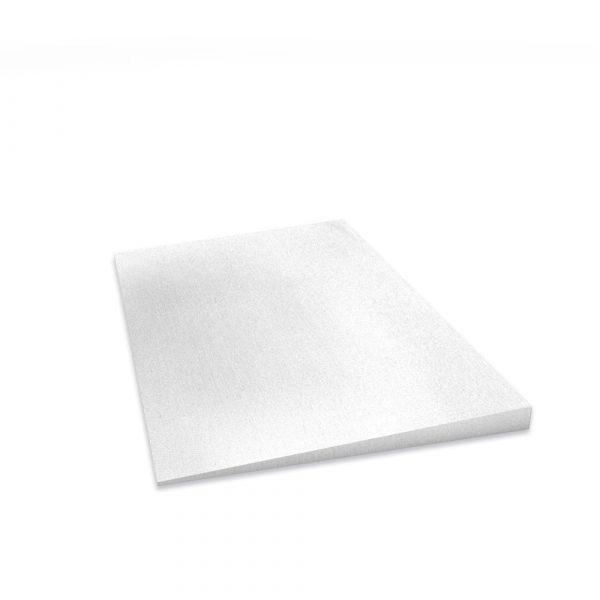Weiße Keilplatte mit einer Stärke von 22/5mm