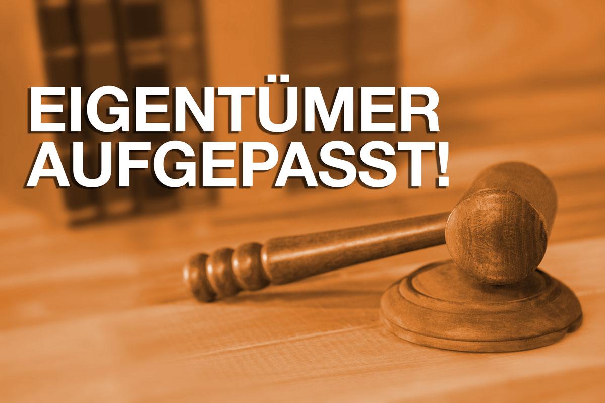 Eigentümer aufgepasst - Urteil des Landgerichtes Karlsruhe vom 16.12.2014, 11 S 14/14