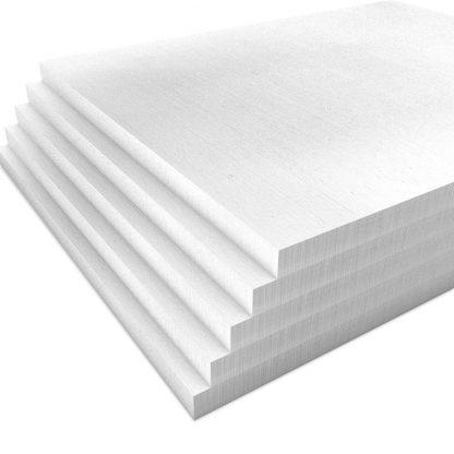 Kalziumsilikatplatten für die Innendämmung mit 25mm Stärke in weißgrau im Mehrpack (Nah-Aufnahme)