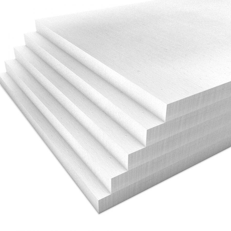 Kalziumsilikatplatten für die Innendämmung mit 30mm Stärke in weißgrau im Mehrpack (Nah-Aufnahme)