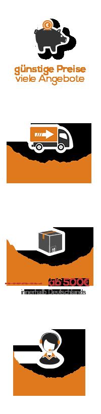 Ihre Klimaplatten-Shop.de Vorteile
