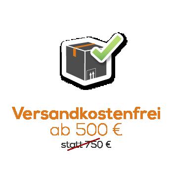 Versandkostenfrei ab 500 Euro Icon