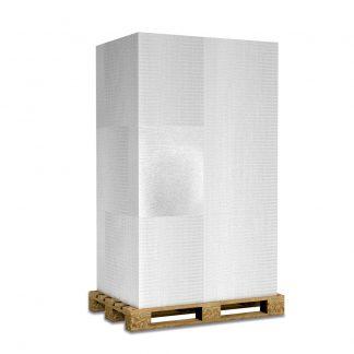 Kalziumsilikatplatten zur Innendämmung und Schimmelsanierung in 25mm als Palettenware (weissgrau 625mm x 500mm) für Großkunden und/oder Gewerbe