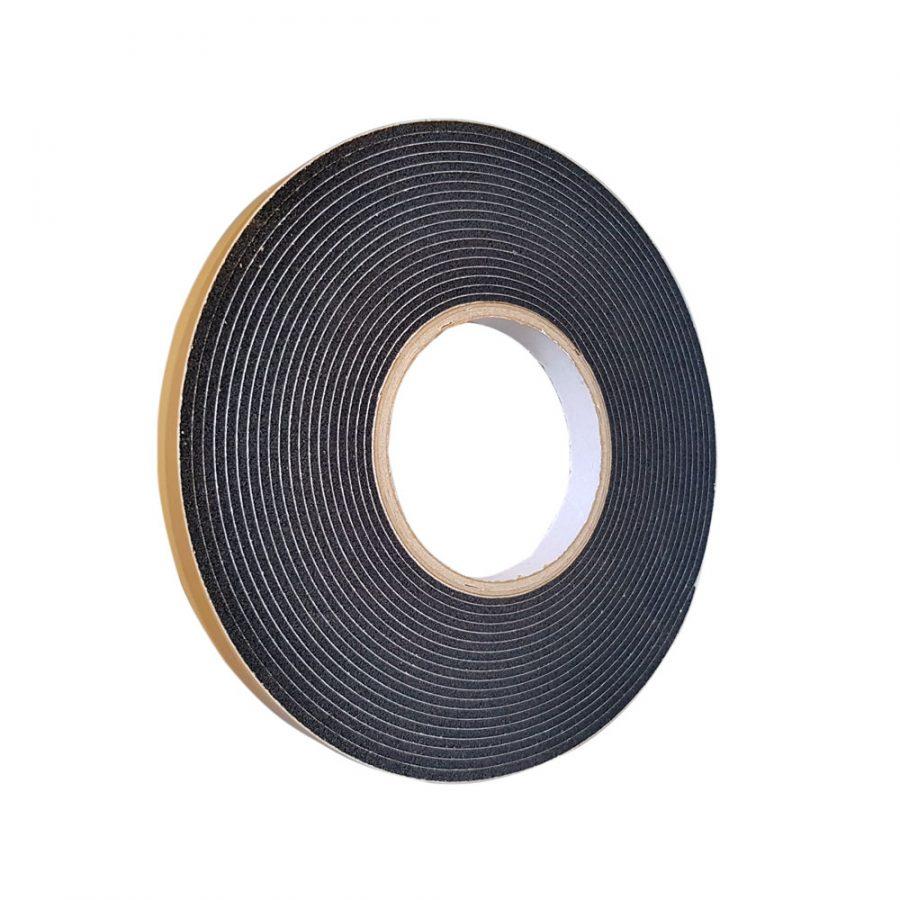 Diffusionsoffenes PU-Weich-Schaumstoff Fugenband mit 15mm Bandbreite & 8,0 m Rollenbreite