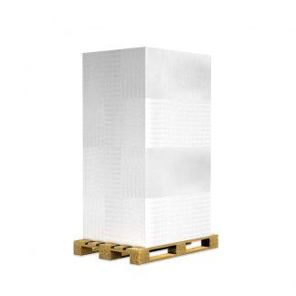 Vorgrundierte Kalziumsilikatplatten Palette im Format 1000 x 625 50 mm mit 50m²