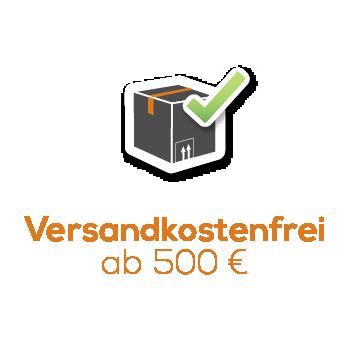 Versandkostenfrei ab 500 Euro